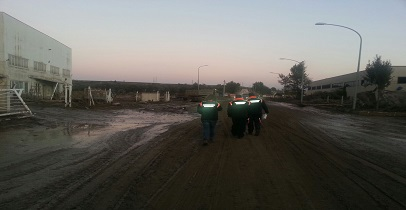 Alluvione Benevento: partita la Colonna Mobile della Regione Lazio