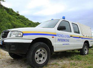 protezione-civile-monti-prenestini-pick-up-mazda